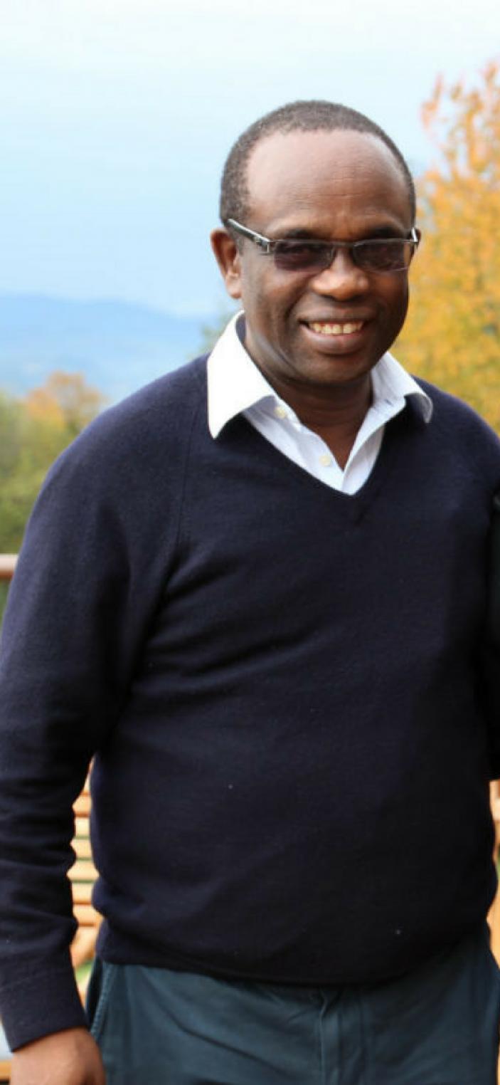 Founder of Solace Ministries, lokale partner, Het Bèkske, Specialty koffie, Rwanda