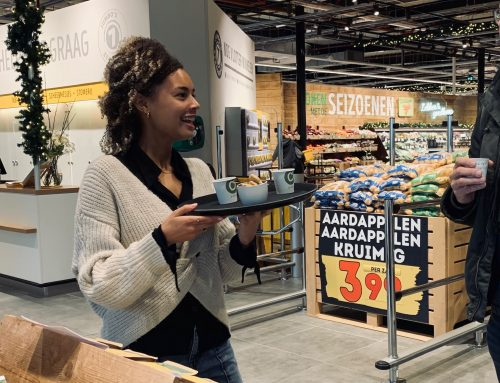 Promotie van ons Bèkske in Jumbo Foodmarkt Tilburg