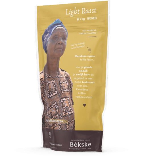 Light Roast, whole beans, Bekske specialty coffee